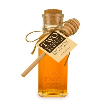 Raw Honey 1lb Muth Jar with Honey Dipper